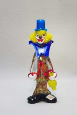 Murano Art Glass Clowns from MuranoClowns.us - FP04b