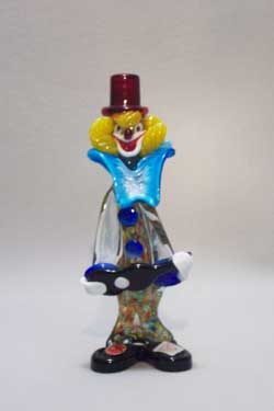 Murano Art Glass Clowns from MuranoClowns.us - FP04g