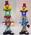 Murano Art Glass Clowns Collection