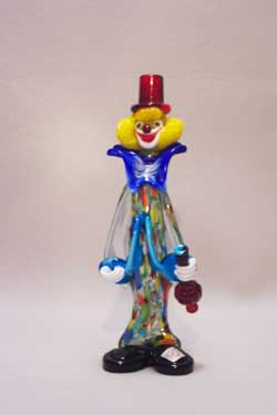 Murano Art Glass Clowns from MuranoClowns.us - FP14