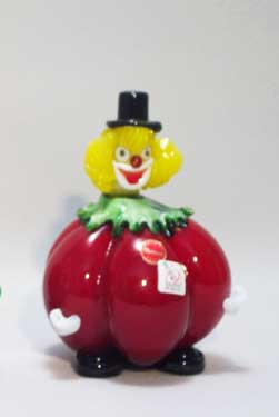 Murano Art Glass Clowns from MuranoClowns.us - FP16