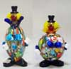 Murano Art Glass Clowns - FP24 and FP26