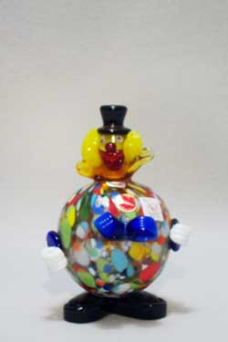 Murano Art Glass Clowns from MuranoClowns.us - FP26