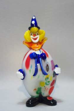 Murano Art Glass Clowns from MuranoClowns.us - FP602
